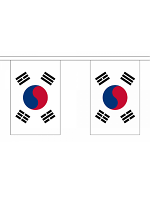 South Korea Bunting 6m 20 Flag