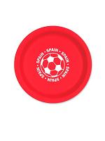 "Spain Football 9"" Plate ( 8 plates per pack)"