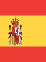 Spain/Spanish Flag with Crest 5ft x 3ft