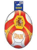 Spain Football Cutout