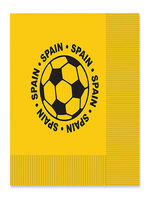 Spain Football Napkins