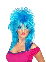 Sparkle Rock Diva Wig - Click for Colours