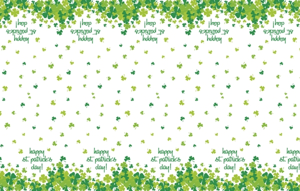 St Patrick's Day  Table Cover