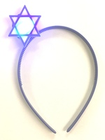 Star of David Flashing Headband