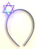Star of David Flashing Headband