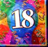 18th Birthday Jubilee Party Napkins Pack Of 16