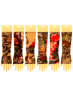 Tattoo Arm Sleeve Colour Design - Pair