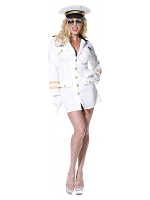Top Gun Lady Officer Costume
