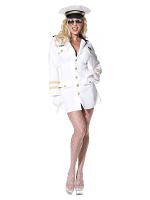 Top Gun Lady Officer Costume