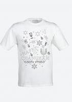 Colour Yourself Happy Chanukah T-Shirt -Adult