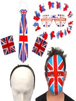 Union Jack Party Accessory Pack - Large
