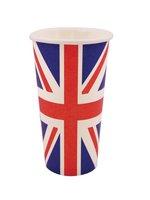 Union Jack Paper Cup (8 per pack)