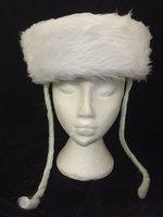 Deluxe Jewish Chassidic Hat - White