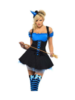 Fever Wicked Witch Blue Costume - Click for sizes