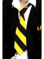School Tie - Yellow & Black (Quantity 1)