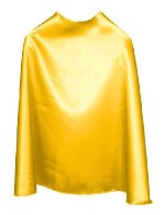 Yellow Super Hero Cape