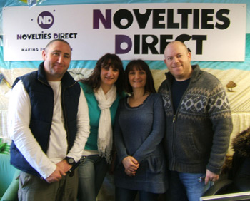 group photo of Novelties Direct